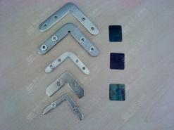 灯箱/画框型材角码超薄灯箱连接件 灯箱画框接码